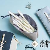 筆袋文具收納盒大容量考試鉛筆盒纏繞繩【君來佳選】