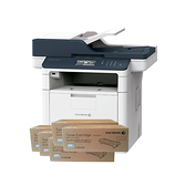 FujiXerox DocuPrint M375z 黑白無線雙面傳真雷射多功複合機 搭五支CT203109原廠碳粉匣