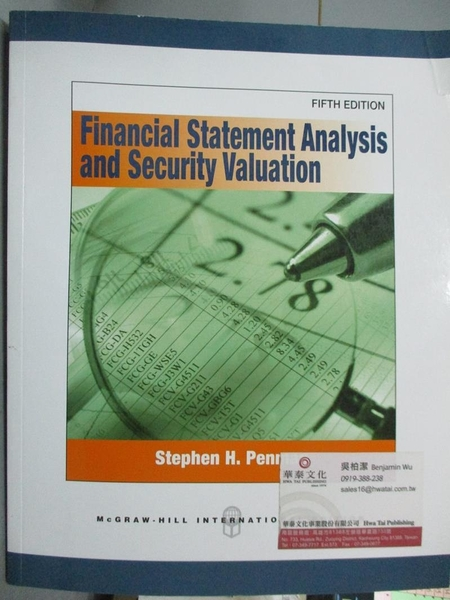【書寶二手書T5/大學商學_ZDT】Financial Statement Analysis and Security
