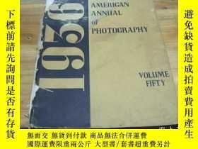 二手書博民逛書店the罕見american annual of photogra
