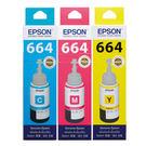 EPSON T664 原廠彩色墨水匣(T664200-400)