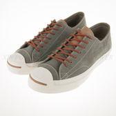 CONVERSE~JACK SPLIT 灰色 牛八哥 軟木塞鞋墊 帆布鞋 (145605C)