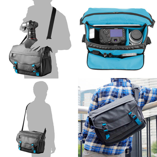 ◎相機專家◎ HAKUBA LUFTDESIGN SLD-RS-SBLBK 雷斯特 防水側背包 HA205015 公司貨