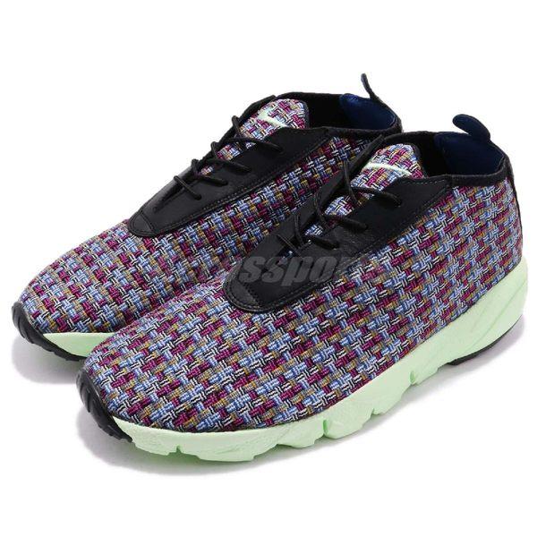 【三折特賣】Nike 休閒鞋 Air Footscape Desert Chukka 紫綠 編織 側綁鞋 男鞋【PUMP306】 652822-004