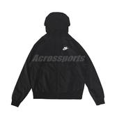 Nike 外套 NSW Jackets 黑 白 男款 連帽外套 運動休閒 防風 【ACS】 DC4113-010