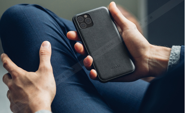 Moshi Overture iPhone 11 Pro 專用 磁吸 可拆式 卡夾型 皮套 支援Sanpto