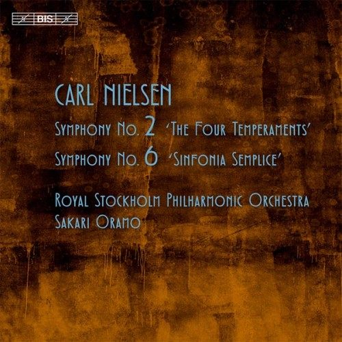 【停看聽音響唱片】【SACD】尼爾森:第二號交響曲「四種氣質」、第六號交響曲「簡潔」