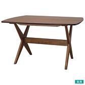 ◎木質餐桌 RELAX WIDE120 WN-MBR NITORI宜得利家居