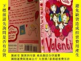 二手書博民逛書店be罕見my valentine 做我的情人Y200392
