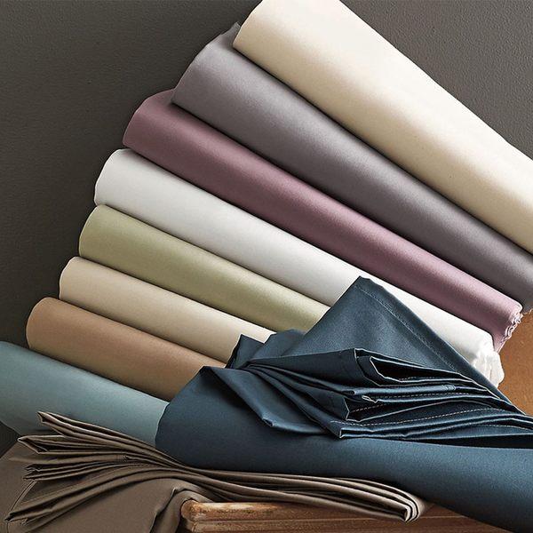 60支棉300針高織密精梳純棉零碼單床包/單人 CO-6002(多色任選)(A-nice)