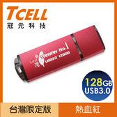 TCELL USB3.0 TAIWAN N01隨身碟 128GB 紅