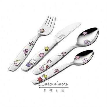 Zwilling雙人牌 兒童餐具 4件組Hello Kitty