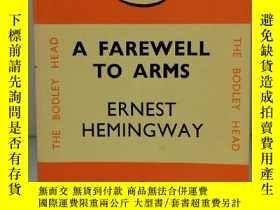 二手書博民逛書店海明威:永別了武器罕見A Farewell to Arms by Ernest Hemingway (Pengui