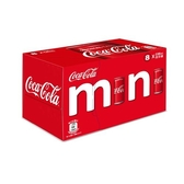 可口可樂迷你罐(冰箱好拿包)235mlx8入【愛買】