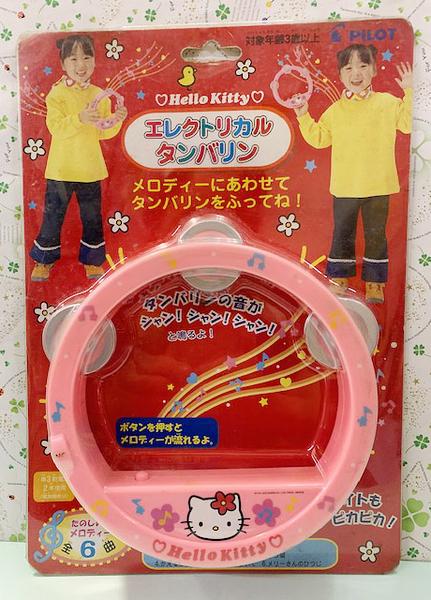 【震撼精品百貨】Hello Kitty 凱蒂貓-三麗鷗鈴鼓玩具-粉*60701