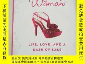 二手書博民逛書店The罕見Single Woman: Life Love And A Dash Of SassY7951 見圖