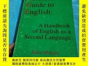 二手書博民逛書店Reference罕見Guide to Engish,英文版Y1