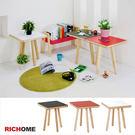 【RICHOME】TA394《班頓方桌-3色》 書桌 工作桌 咖啡桌 電腦桌 兒童桌 茶几