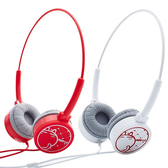 【i2】BomBom 頭戴式耳機-嫣紅色