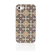 [破盤出清價]TORY BURCH樂高拼豆十字紋iPhone4/4S手機保護殼(米黃色)151018