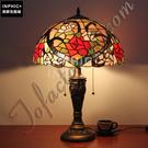 INPHIC-田園玫瑰花檯燈純手工藝術品檯燈臥室客廳燈具_S2626C