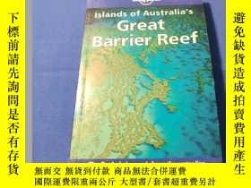二手書博民逛書店Islands罕見of Australia s Great Ba