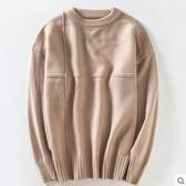 毛衣男 冬季男士加厚加絨毛衣圓領2019冬裝修身針織衫線衣保暖衣服男裝潮 雙十二