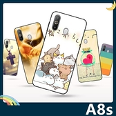 三星 Galaxy A8s 彩繪Q萌保護套 軟殼 卡通塗鴉 小清新 防指紋 全包款 矽膠套 手機套 手機殼