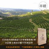 【咖啡綠商號】巴西南米納斯產區COE季軍聖泰奧/神木莊園-去果皮日曬100%黃波旁(半磅)