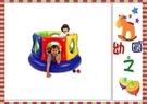 *幼之圓*城堡造型充氣球屋/球池 ~不含球賣場