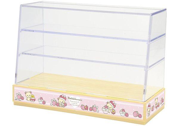 日本 Re-ment 拉拉熊懶懶熊造型點心蛋糕展示櫃 食玩盒玩系列 【小福部屋】
