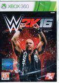 【玩樂小熊】現貨中 XBOX360 遊戲 WWE 2K16 美國勁爆職業摔角 英文亞版