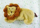 【震撼精品百貨】日本精品百貨-動物系列筆袋-獅子