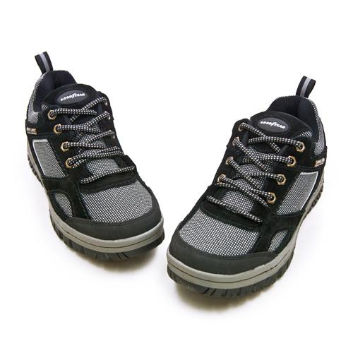 LIKA夢 GOODYEAR 固特異耐磨止滑多功能工作鞋 (油、水狀況不適用) WINNER 勝利者系列 黑灰 83580 男