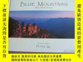 二手書博民逛書店BLUE罕見MOUNTAINS- WILDERNESS 世界風光