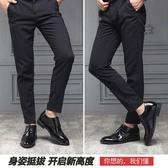 皮鞋 春季新款男士皮鞋男商務黑色隱形內增高男鞋休閑鞋結婚鞋正裝韓版 歐歐