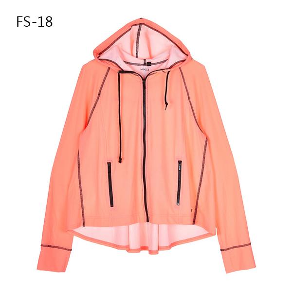 SUNSOUL/HOII/后益-傘狀連帽外套 UPF50+ 紅光