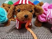USB直充學舌說話電動狗狗玩具會走會叫牽繩狗泰迪音樂唱歌仿真狗 雙11推薦爆款