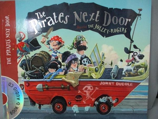 【書寶二手書T8/少年童書_QKT】The Pirates Next Door_附光碟_強尼·杜德