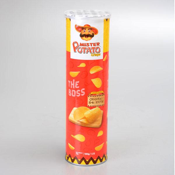 【POTATO】薯片先生洋芋片(原味) 130g