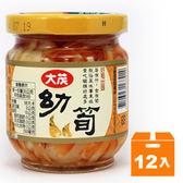 大茂 幼筍 玻璃罐 170g (12入)/箱