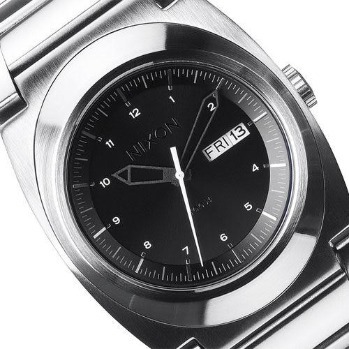 NIXON The Don stlye 時尚腕錶-黑/銀 A358-000