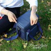 保冷袋 BOTTA DESIGN牛津布飯盒袋保溫包戶外野餐包防水大容量手提便當包 果果輕時尚