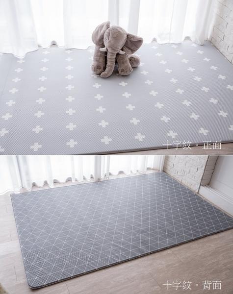 【限時特價↘】小鹿蔓蔓 Mang Mang 兒童PVC遊戲地墊(十字紋)