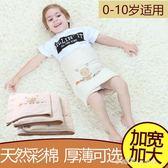 寶寶護肚圍肚純棉嬰兒童護肚子腹圍加厚保暖秋冬新生兒彩棉護肚臍 小確幸生活館