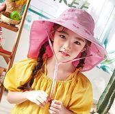 兒童帽子男遮陽帽太陽帽男童防曬帽薄款寶寶漁夫帽女童涼帽夏季潮第七公社