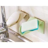 簡約吸盤式肥皂架/置物架(1入)【小三美日】顏色隨機