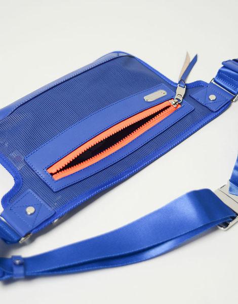 MSPC(master-piece) FLASH No.525202 [科技感時尚側背包-藍色]
