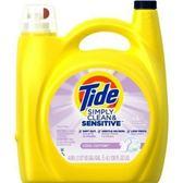 美國 Tide 濃縮洗衣膏-敏弱肌膚專用/2入箱購(138oz/4080ml*2)