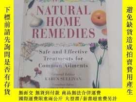 二手書博民逛書店The罕見Complete Family Guide To Natural Home Remedies: Safe